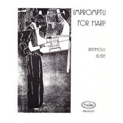 Glière Reinhold Moritzovich - Impromptu for harp
