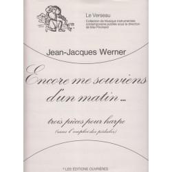 Werner Jean-Jacques - Encore me souviens d'un matin