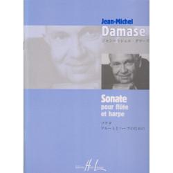 Damase Jean-Michel - Sonate pour flûte et harpe