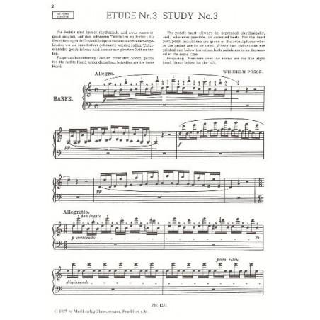 Posse Wilhelm - 8 Etudes de concert -