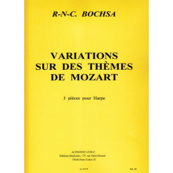 Bochsa Nicola-Charles - Variations sur des th