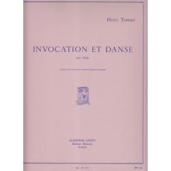 Tomasi Henri - Invocation & danse (harpe seule)