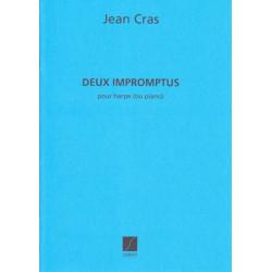 Cras Jean - 2 Impromptus (pour harpe ou piano)