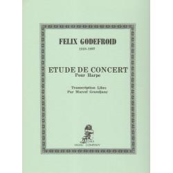 Godefroid Felix - Etude de concert (Grandjany)