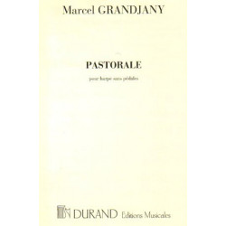 Grandjany Marcel - Pastorale (harpe celtique)