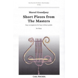 Grandjany Marcel - Short pieces from the Masters (harpe celtique)