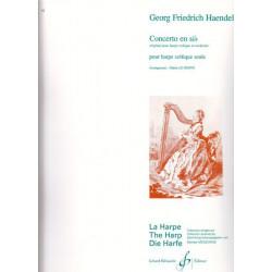 Haendel Georg Friedrich - Concerto en si b (harpe celtique)