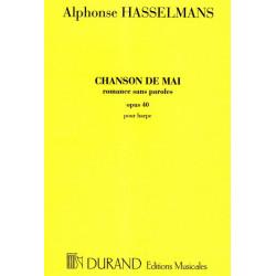 Hasselmans Alphonse - Chanson de mai op.40