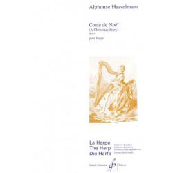 Hasselmans Alphonse - Conte de Noël pour la harpe op.33 (A Chris
