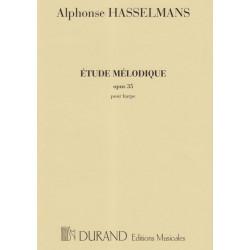 Hasselmans Alphonse - Etude mélodique op.35